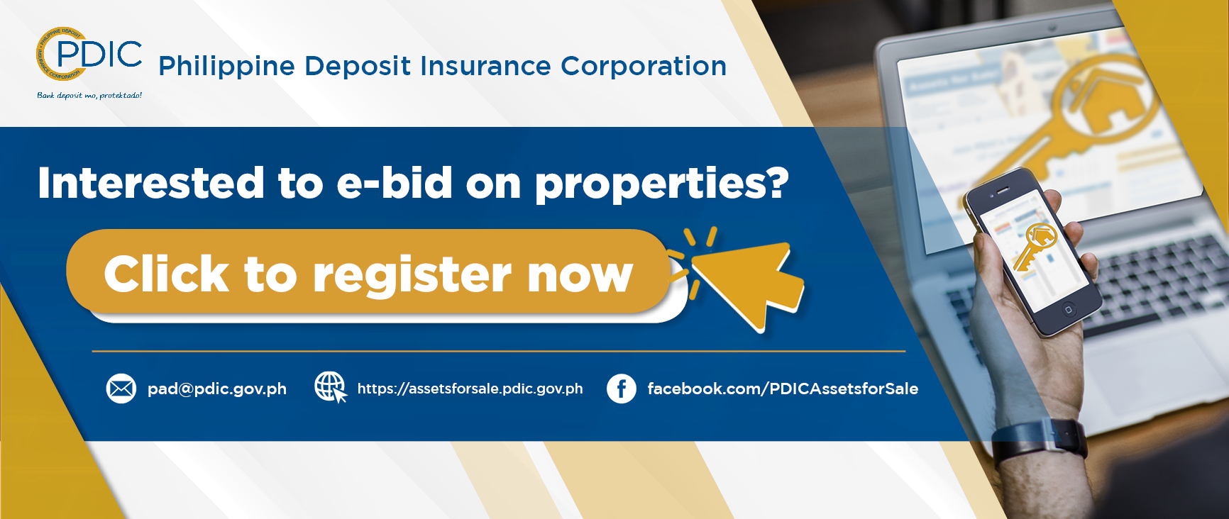 Interested to Bid on Properties? Register Now